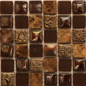 Мозаика Mozaico de Lux S-MOS HS0168 300 х 300 мм