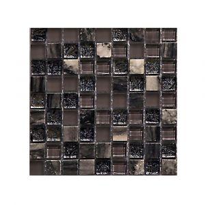 Мозаика Mozaico de LUX T-MOS DF02+G04+MARBLE (L) 300 × 300 × 8 мм