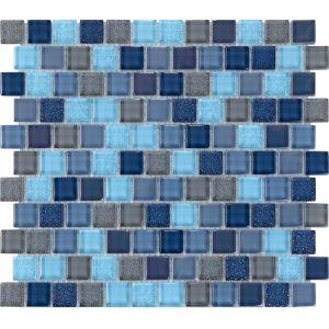 Мозаика Mozaico de Lux T-MOS SP02 300 х 300 мм
