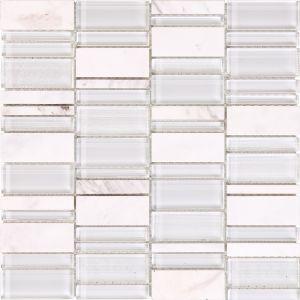Мозаика Mozaico de Lux T-MOS AJAX LINEAR 306 х 306 мм