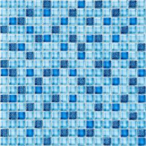 Мозаика Mozaico de Lux K-MOS STAR BLU 300 x 300 мм