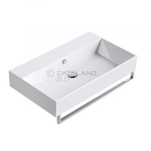 Раковина подвесная Catalano Premium 800 х 470 х 160 мм, без отверстий под смеситель