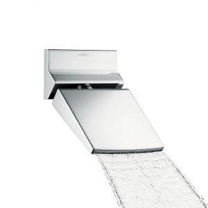 Верхний душ с каскадным изливом Hansgrohe Raindance