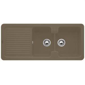 Керамическая кухонная мойка Villeroy & Boch Condor 1160х510х205 мм (цвет timber/древесный)