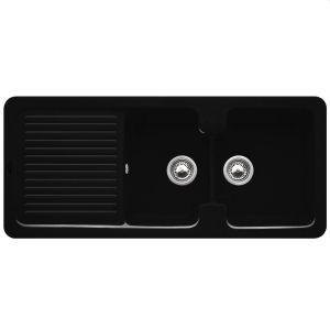 Керамическая кухонная мойка Villeroy & Boch Condor 1160х510х205 мм (цвет сhromit/хром)