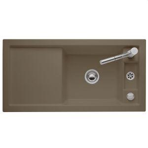 Керамическая кухонная мойка Villeroy & Boch Metric Art 1000х510х220 мм (цвет timber/древесный)