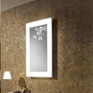 Зеркало с подсветкой c декором Villeroy & Boch La Belle 500 x 850 x 67 mm