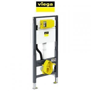 Инсталляция для унитаза-биде Viega Prevista Dry с регулируемой высотой санкерамики (без клавиши)