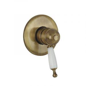 Смеситель Oxford термост. для душа скрытого монтажа Bugnatese бронза (OXBR6377)