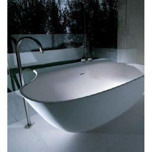 Ванна из материала Ceramilux 169х94 см Falper Scoop (matt white)