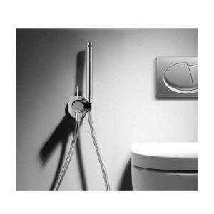 Однорычажный смеситель с гигиеническим душем Tres, хром.