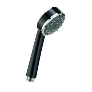 Ручной душ Kludi Zenta Ø 84 мм (хром/черный)