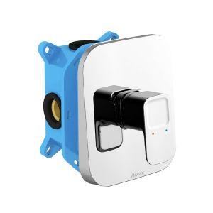 Душевой смеситель скрытого монтажа, для R-box Ravak 10° TD 066.00 хром