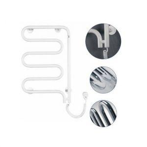 Электрический полотенцесушитель Instal projekt SPINA Electro безжидкостный, поворотный, белый SPIE-60/100RW 550X1045