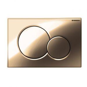Смывная клавиша Geberit Sigma 01 (золото)