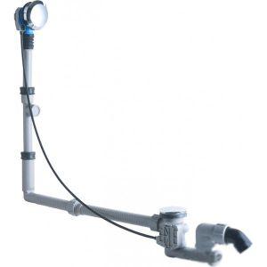 Слив-перелив для ванной Geberit Uniflex удлиненный  Хром