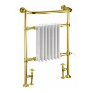 Полотенцесушитель Burlington Trafalgar 60 x h95 см, (цвет - золото/белый)