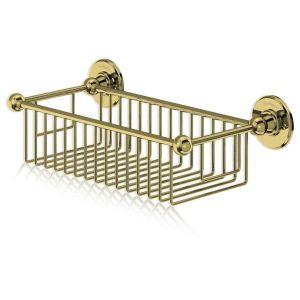 Полка-решетка для ванны Burlington, цвет золото