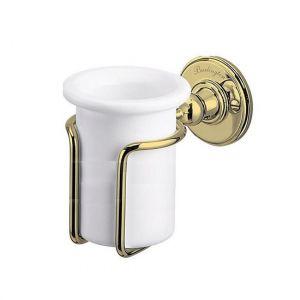 Настенный стакан для ванной Burlington, цвет золото