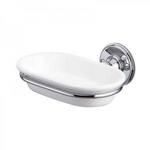 Настенная мыльница для ванной Burlington, цвет хром