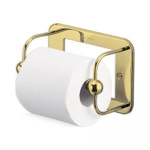 Бумагодержатель Burlington, цвет золото