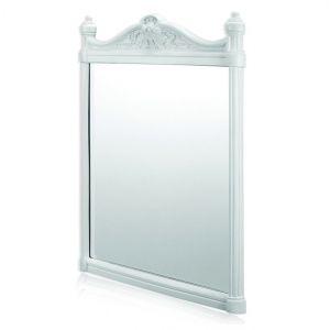 Настенное зеркало Burlington, цвет белый алюминий