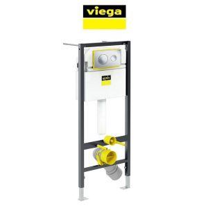 Инсталляция для унитаза Viega Prevista Dry с кнопкой Style 20 хром