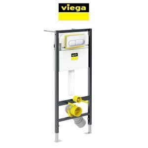 Инсталляция для унитаза Viega Prevista Dry с кнопкой Life 6 хром