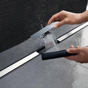 Крышка дренажного канала Geberit CleanLine20 154.450.KS.1 (обрезной, 30-90см) металл шлифованый/металл/матовый