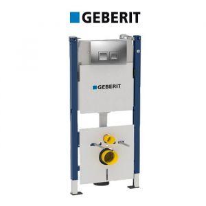 Инсталляция Geberit Duofix 458.168.46.1 (4-в-1) комплект (клавиша хром мат)