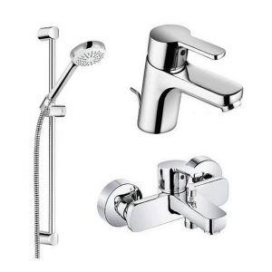 Набор смесителей Kludi Logo Neo для ванны 376850575 (комплект 3 в1)