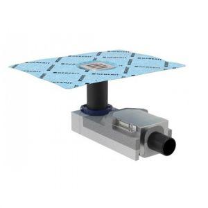 Трап для душа Geberit Uniflex 100 мм+ решетка для трапа (нержавеющая сталь)