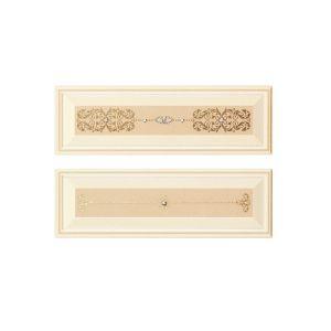 Декор Piemme Valentino Boiserie RilievoV Avorio (комплект из 2 плиток) 9,5х30 см