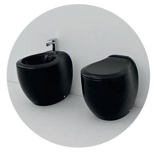Унитаз Artceram Blend (цвет - чёрный)