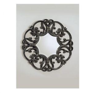 Круглое настенное зеркало для ванной Devon&Devon Black Amelie