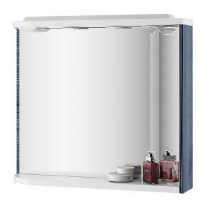 Зеркало Ravak Rosa l 780х680х160 мм, белый/белый