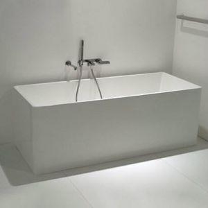 Ванна из искуственного камня Flaminia Wash 150 х 70 см, bicolor