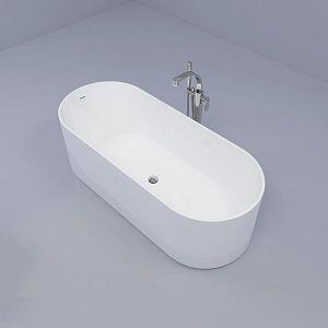 Ванна из искуственного камня 170 х 70 см Flaminia Oval