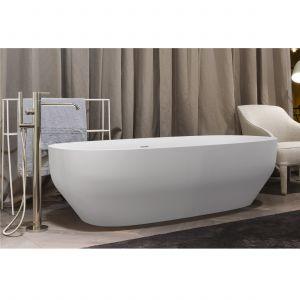 Ванна из материала Сeramixlux 175х80 см Antonio Lupi AGO Matt + сифон