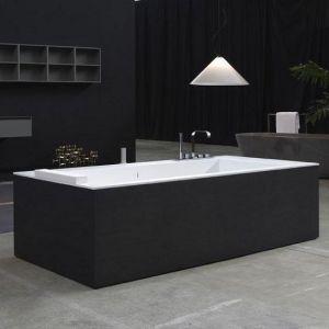 Ванна из материала Corian 180х80 см Antonio Lupi Biblio Wood 4lati