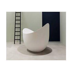 Ванна из материала Cristalplant® 122х120 см Antonio Lupi Lunetta
