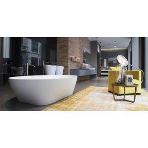 Ванна из материала Cristalplant® 190х130 см Antonio Lupi SOLIDEA