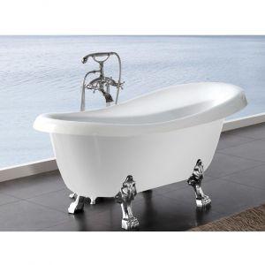 Ванна акриловая Kerasan Retro 170 х 80 см + ножки белые