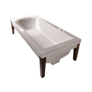 Ванна акриловая Kerasan Bentley 180 х 80 см + ножки