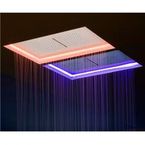 Тропический душ с каскадом Antonio Lupi METEO с подсветкой