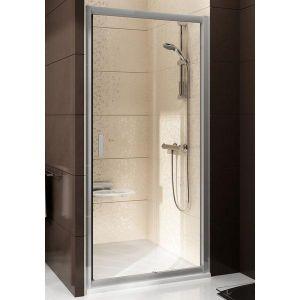 Душевая дверь Ravak Blix BLDP2-100 (профиль - полированный алюминий; стекло - Transparent (прозрачный))