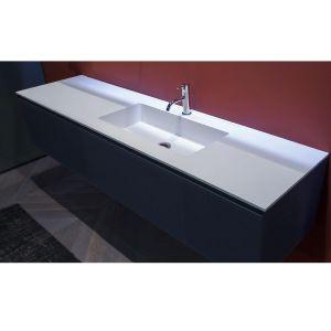 Комплект мебели для ванной комнаты Antonio Lupi Basico PantaRei 180см чаша смещена влево