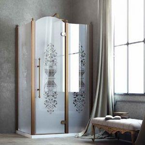 Душевая кабина Box&Co Principe 80 x 100  (профиль - хром; стекло - прозрачное)