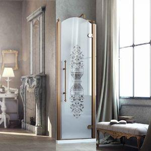Душевые двери Box&Co Principe 80  (профиль - хром; стекло - прозрачное)