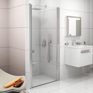 Душевые двери Ravak Сhrome CSD1-80 (профиль - белый; стекло - Transparent (прозрачный))